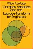 Complex Variables and the Laplace Transform for Engineers, LePage, Wilbur R., 0486639266