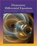 Elementary Differential Equations, Kohler, W. E. and Johnson, Lee W., 0201709260