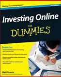 Investing Online for Dummies, Matt Krantz, 0470769262
