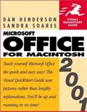Microsoft Office 2001 for Macintosh, Dan Henderson and Sandra Soares, 0201729261