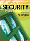 Introduction to Security : Operations and Management, Ortmeier, P. J., 0135129273