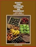 Quantity Food Production, Planning and Management 9780471289272