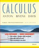 Calculus : Early Transcendentals, Anton, Howard and Bivens, Irl C., 111812927X