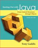 Starting Out with Java, Tony Gaddis, 0321479270