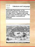Psalmodia Germanic, See Notes Multiple Contributors, 1170669271
