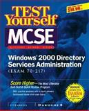 MCSE Windows 2000 Directory Services Administration : Exam 70-217, Syngress Media, Inc. Staff, 0072129271