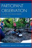 Participant Observation, Kathleen DeWalt and Billie R. DeWalt, 0759119279