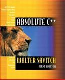 Absolute C++, Savitch, Walter J., 0201709279