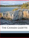 The Canada Gazette, Canada, 1149849274