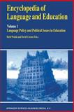 Encyclopedia of Language and Education, Wodak, Ruth and Corson, David, 0792349288