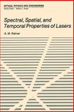 Spectral, Spatial, and Temporal Properties of Lasers, Ratner, A., 1468419285