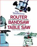 Router, Bandsaw, and Tablesaw, Lonnie Bird and Kelly Mehler, 1561589284