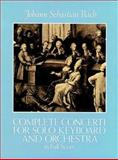 Complete Concerti for Solo Keyboard and Orchestra in Full Score, Johann Sebastian Bach, 0486249298