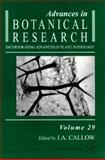 Advances in Botanical Research, , 0120059290
