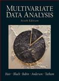 Multivariate Data Analysis, Hair, Joseph F., Jr. and Tatham, Ronald L., 0130329290