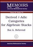 Derived L-Adic Categories for Algebraic Stacks, K. Behrend, 0821829297