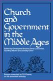 Church and Government in the Middle Ages, , 0521089298