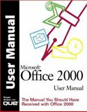 Microsoft Office 2000 User Manual, Que Corporation Staff, 0789719304