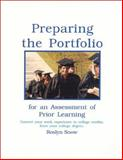 Preparing the Portfolio for an Assessment of Prior Learning, Snow, Roslyn, 0967909309