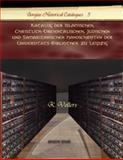 Katalog der Islamischen, Christlich-Oreientalischen, Judischen und Samaritanischen Handschriften der Universitats-Bibliothek zu Leipzig, Vollers, K., 1593339305