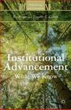 Institutional Advancement : What We Know, Proper, Eve and Caboni, Timothy C., 1137379308
