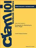 Studyguide for Marketing by Kerin, Roger, Cram101 Textbook Reviews, 1478479302