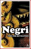 Time for Revolution, Antonio, Negri and Negri, Antonio, 0826479316