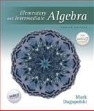 Elementary and Intermediate Algebra with Mathzone, Dugopolski, Mark, 0073019313