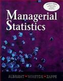 Managerial Statistics 9780534389314