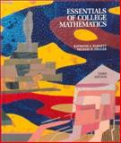 Essentials of College Mathematics for Business, Economics, Life Sciences, and Social Sciences, Barnett, Raymond A. and Ziegler, Michael R., 0023059311