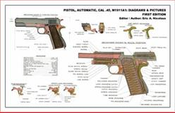 Pistol, Automatic, Cal . 30, M1911A1 : Diagrams and Pictures, First Edition,, 0979509319