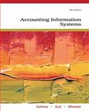 Accounting Information Systems, Gelinas, Ulric J. and Dull, Richard B., 0538469315