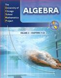 UCSMP Algebra, Volume 2, Susan Brown and R. James Breunlin, 0076159329