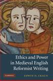 Ethics and Power in Medieval English Reformist Writing, Craun, Edwin D., 0521199328