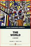 The World : A History, Fernández-Armesto, Felipe, 0205759327
