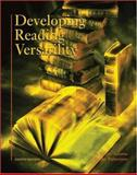 Developing Reading Versatility, Adams, W. Royce and Patterson, Becky, 0155069330