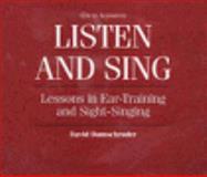 Listen and Sing, Damschroder, 0028649338