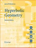 Hyperbolic Geometry, James W. Anderson, 1852339349