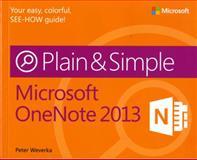 Microsoft OneNote 2013, Weverka, Peter, 0735669341