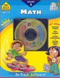 Math 3, School Zone Publishing Interactive Staff, 0887439349