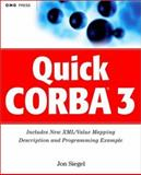 Quick CORBA 3, Jon Siegel, 0471389358