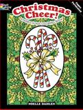 Christmas Cheer! Stained Glass Coloring Book, Noelle Dahlen, 0486479366