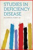Studies in Deficiency Disease, , 1313839361