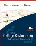 GREGG College Keyboarding and Document Processing, Ober, Scot and Johnson, Jack E., 0077319362