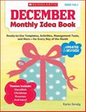 December Monthly Idea Book, Karen Sevaly, 0545379369