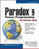 Paradox 9 Power Programming, Prestwood, Brian, 0072119365