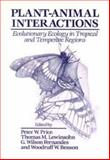 Plant-Animal Interactions : Evolutionary Ecology in Tropical and Temperate Regions, , 047150937X