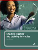 Effective Teaching and Learning in Practice, Skinner, Don and Skinner, 0826499376