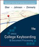College Keyboarding and Document Processing, Ober and Ober, Scot, 0077319370