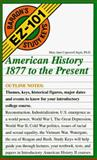 American History 1877 to the Present, Ingui, Mary J., 0812049373